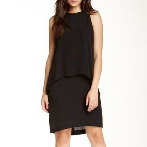 Theory Lyall Double Layer Shift Silk Cocktail LBD